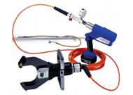 ESSGG85L Электрогидравл. аккумуляторное устройство для резки под напряж. до 60 кВ ( до 110 кВ для одной фазы) силовых кабелей диам. до 85 мм, голова закр. типа,  заземление, пласт. бокс, зар. устр-во