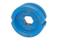 """Матрица серии """"22"""" для трубчатых медных наконечников KLAUKE BC-типа 50 мм2 (для уплотнённых многопров. жил), шестигранник"""