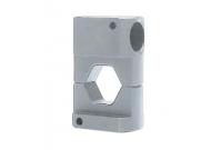 """Матрица серии """"45"""" для алюм. соединителей 300 мм2 для натяжных соединений (шестигранник)"""