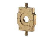 """Матрица серии """"4"""" для трубч. медных DIN наконечников 6 мм2 (шестигранник)"""