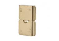 """Матрица серии """"5"""" для наконечников DIN46234 из листовой меди 25 мм2 (вдавливание)"""