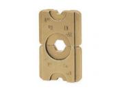 """Матрица серии """"5"""" для трубч. медных облегч. наконечников для двух сечений 10+50 мм2 (шестигранник)"""
