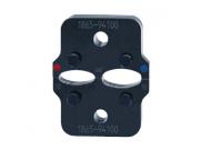 """Матрица серии 50"""" для соединит. гильз с термоус.изоляцией  4-6 мм2 (для арт.700WS, овал)"""