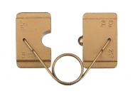 """Матрица серии """"18"""" для наконечников DIN46234 из листовой меди 35 мм2 (вдавливание)"""