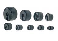32803 Набор из 9-ти пар матрица-пуансон 15,2 / 18,6 / 20,4 / 22,5 / 28,3 / 30,5 / 37,0 / 47,0 / 60,0 мм (для гидравл. привода)