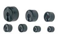 06892 Набор из 7-ми пар матрица-пуансон 16,2 / 20,4 / 25,4 / 32,5 / 40,5 / 50,8 / 64,0 мм (для гидравл. привода)