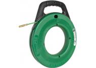 35747 УЗК - Пластиковый барабан на подставке с лентой из стекловолокна 76 м (Ф 4,8 мм) для протяжки кабеля