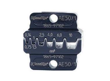 """Матрица серии 50"""" для втулочных наконечников 35-50 мм2 (трапеция)"""