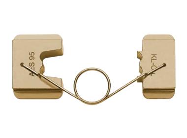 """Матрица серии """"18"""" для втулочных наконечников 25 мм2 для компактных жил 5-6 кл. (спец. трапеция)"""