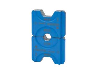 """Матрица серии """"5"""" для трубчатых медных наконечников KLAUKE BC-типа для двух сечений 6+35 мм2 (для уплотнённых многопров. жил), шестигранник"""
