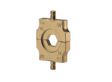 """Матрица серии """"4"""" для трубч. медных DIN наконечников 50 мм2 (шестигранник)"""