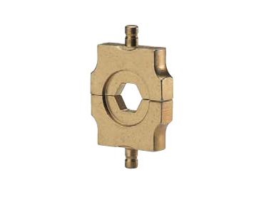 """Матрица серии """"4"""" для трубч. никелевых и стальных  наконечников 1,5-2,5 мм2 (вдавливание)"""