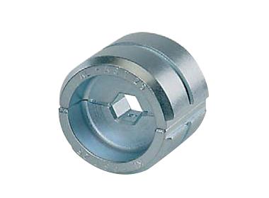 """Матрица серии """"13"""" для соединителей по DIN48085ч.3 для натяжных соединений Al-St проводников 25-4 и 35-6 мм2"""