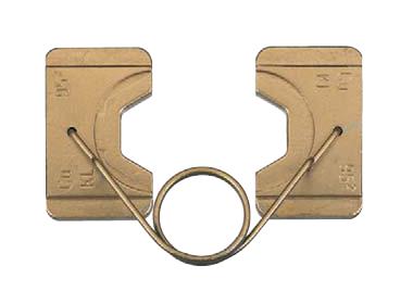 """Матрица серии """"18"""" для медных трубч. наконечников для сплошных проводников 6-10 мм2"""