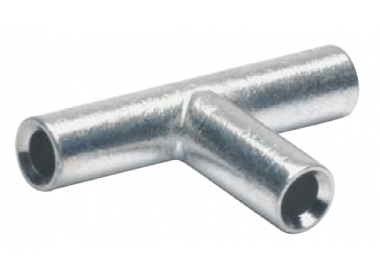 STV1525 Медный T-образный соединитель для сплошных жил 1,5-2,5 мм2 (50 шт.)