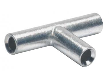 Т-образные соединители для сплошных жил 4 мм2 (50 шт.)