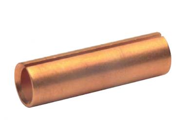 RH3510 Разрезные медные втулки для вставки в соед. гильзы стандарта DIN и облегченного типа при соединении жил разных сечений (переход с сечения 35 мм2 на 10 мм2) (25 шт.)