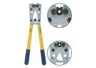 K05D Пресс-клещи с встр. матр. для медн. трубч. наконечников DIN46235 (6 - 50 мм2, шестигранник)