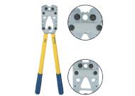 K08 Пресс-клещи с встр. матр. для медн. трубч. облегч. наконечников (16 - 95 мм2, шестигранник)