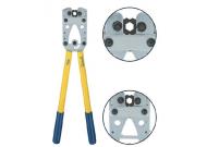 K08D Пресс-клещи с встр. матр. для медн. трубч. наконечников DIN46235 (16 - 95 мм2, шестигранник)