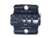"""Матрица серии 50"""" для втулочных наконечников 0,14-6 мм2 (трапеция)"""