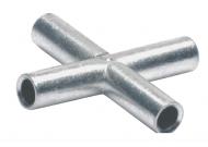 KV4.Крестообразные соединители 4,0мм2 (25 шт.)