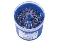 GR4708DO Втул. изолир. наконечники 0,75мм2, дл. втулки 8мм, цвет по DIN46228ч.4 - серый (1000 шт. в ударопрочном пласт. боксе)