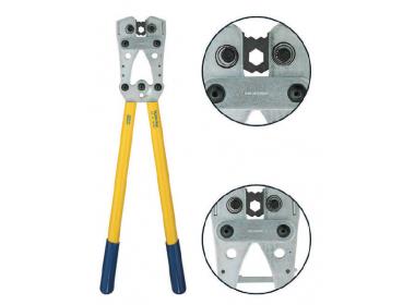 K06D Пресс-клещи с встр. матр. для медн. трубч. наконечников DIN46235 (10 - 120 мм2, шестигранник)